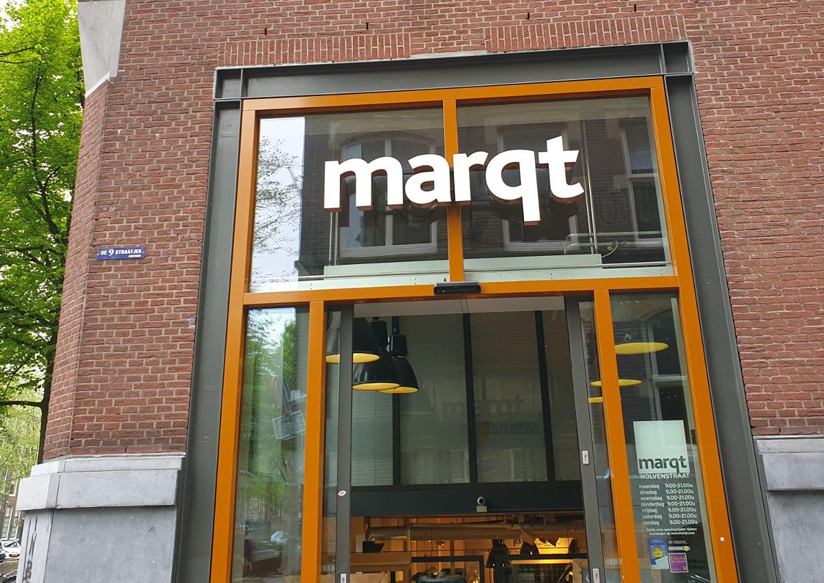Marqt: Organic Italian Food in Amsterdam