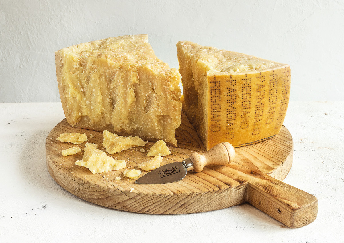 """Over 40 Months"" Parmigiano Reggiano at World Cheese Awards"