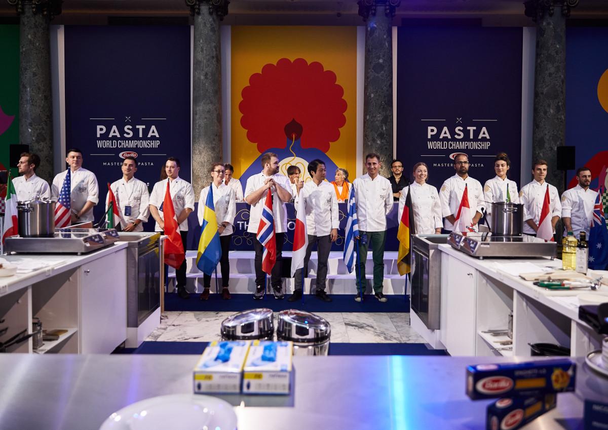 Barilla Master of Pasta crowned in Paris