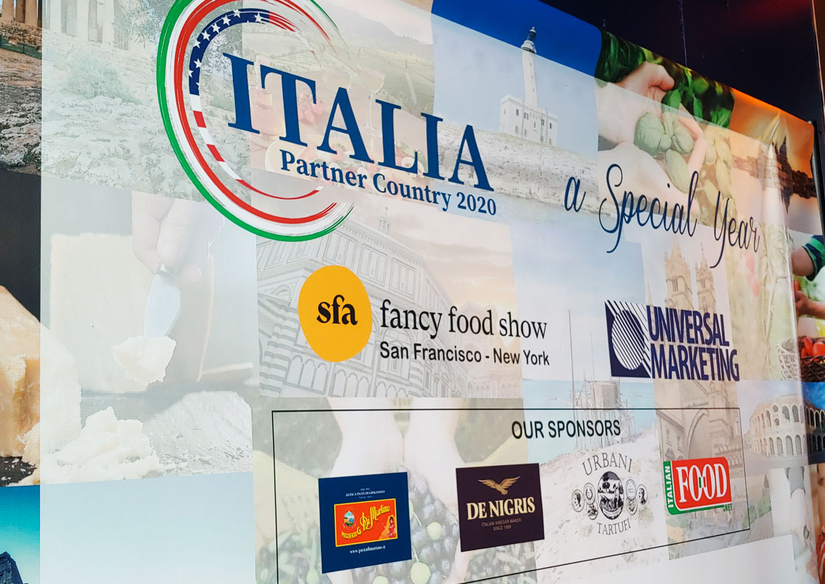 Italy takes record lead at Fancy Food Shows 2020