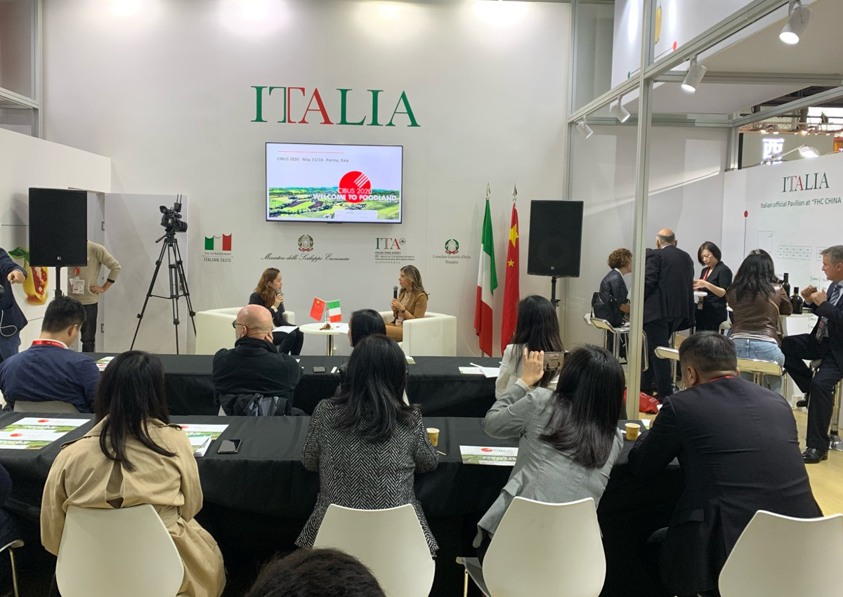ICE - Italian Trade Agency stand at FHC Shanghai 2019