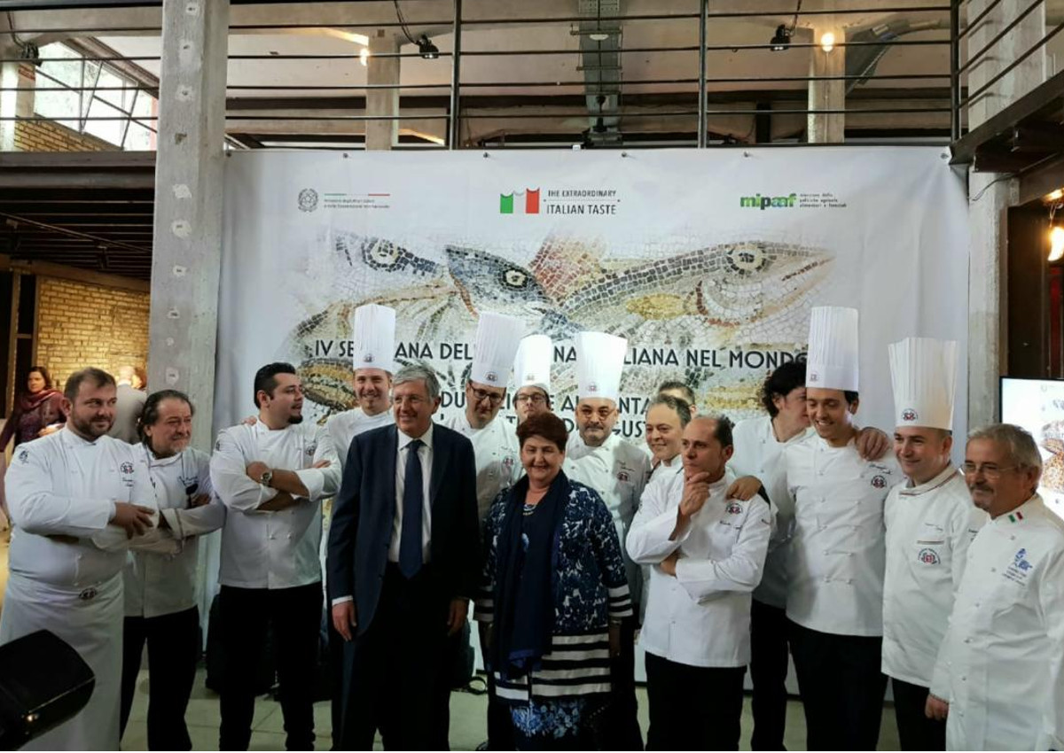 A week dedicated to Italian Cuisine in the World is about to start