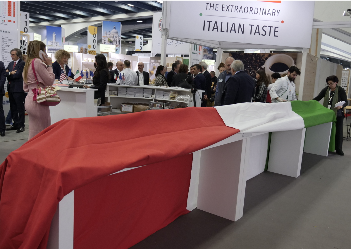 tariffs-Winter Fancy Food Show 2020-Italian Trade Agency-The Extraordinary Italian Taste