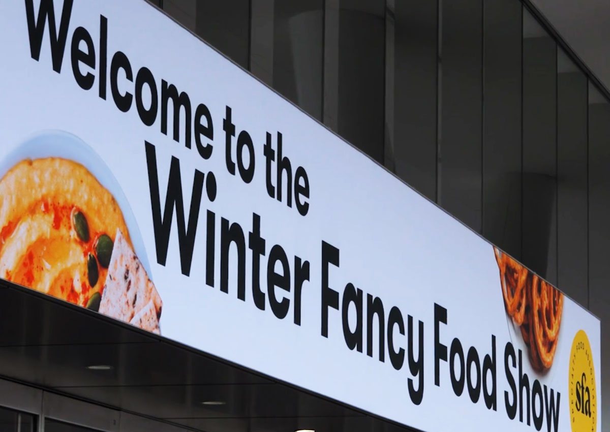 The Italian tour at the 2020 Winter Fancy Food Show