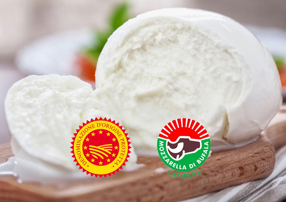 PDO Mozzarella di Bufala Campana: the latest export trends revealed