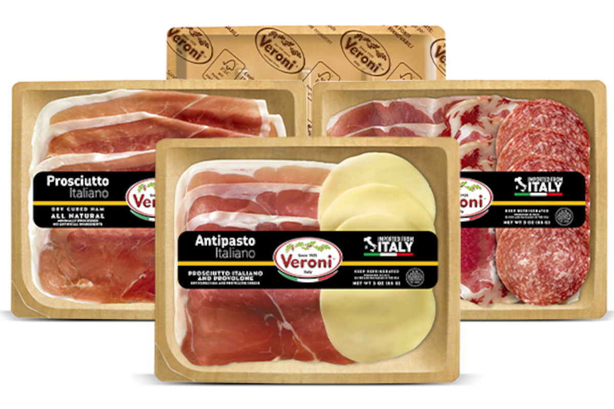Veroni launches new trays in the USA